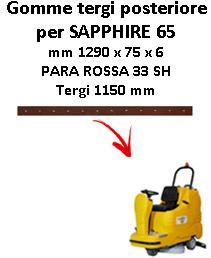 Gomma tergi posteriore per lavapavimenti ADIATEK SAPPHIRE 65