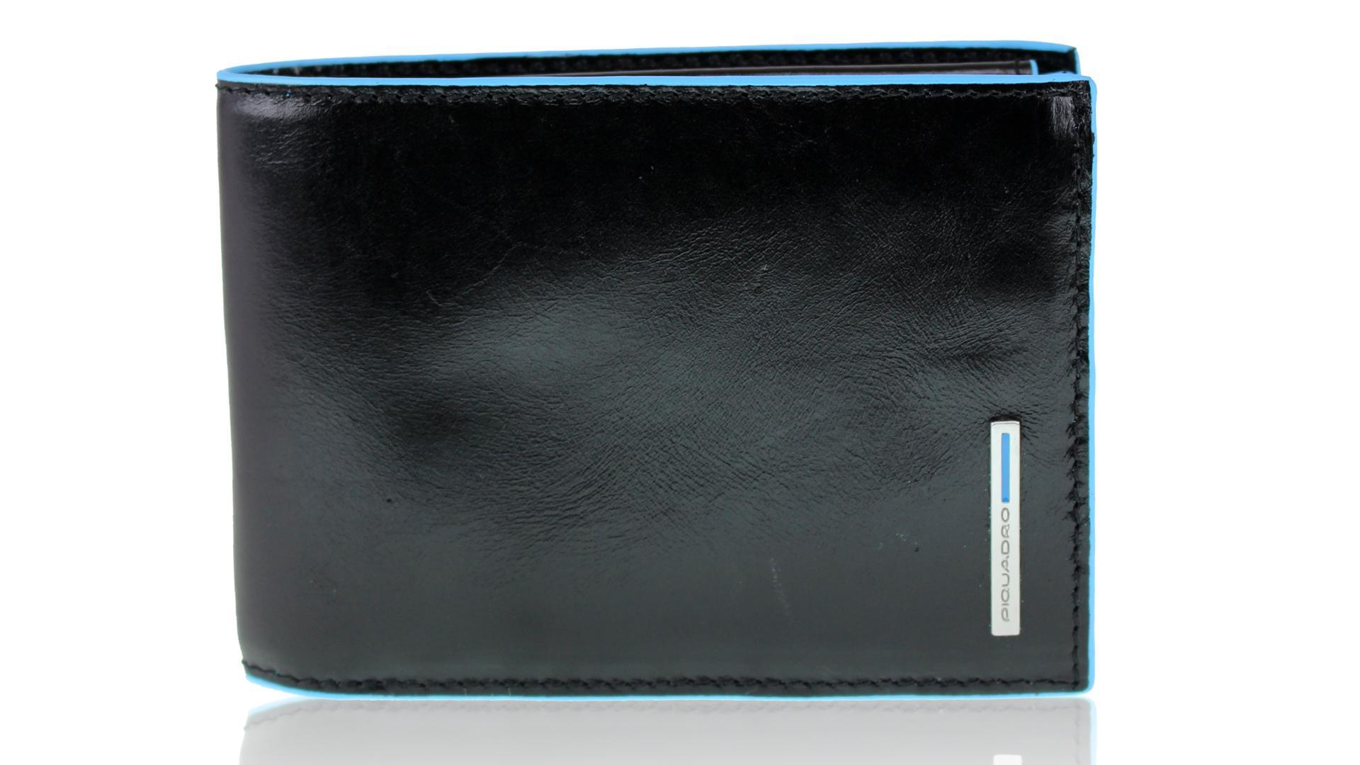 3eed31103a Portafogli uomo Piquadro Blue square PU1392B2 NERO