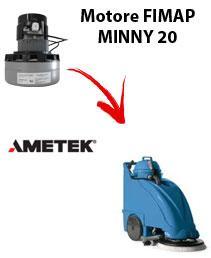 Motore Ametek di aspirazione per lavapavimenti FIMAP MINNY 20