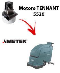 Motore Ametek di aspirazione per Lavapavimenti Tennant 5520