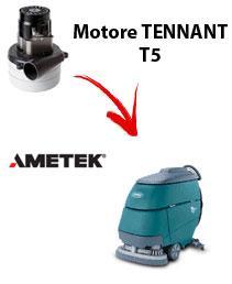 Motore Ametek di aspirazione per Lavapavimenti Tennant T5