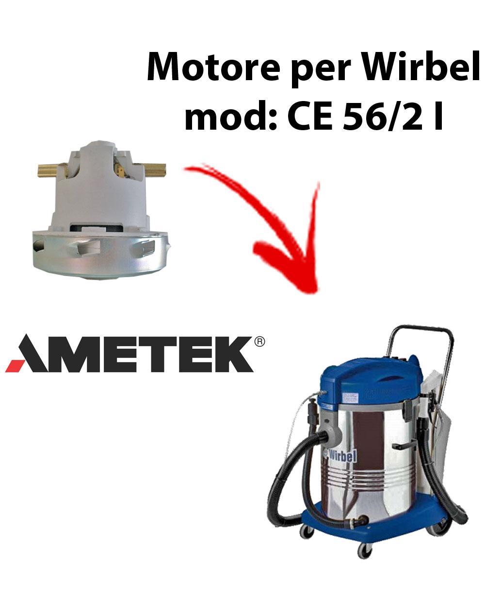 Motore Ametek di aspirazione per Aspirapolvere WIRBEL, modello CE 56/2 I