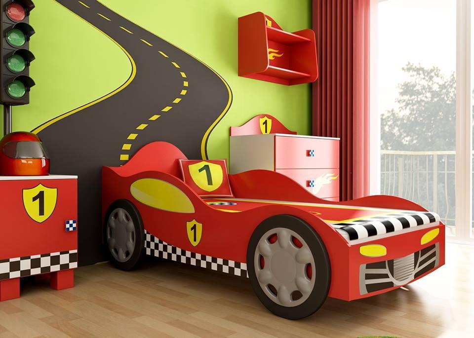 Letto A Forma Di Automobile : Letto a forma di macchina o auto super speed lettini e camerette