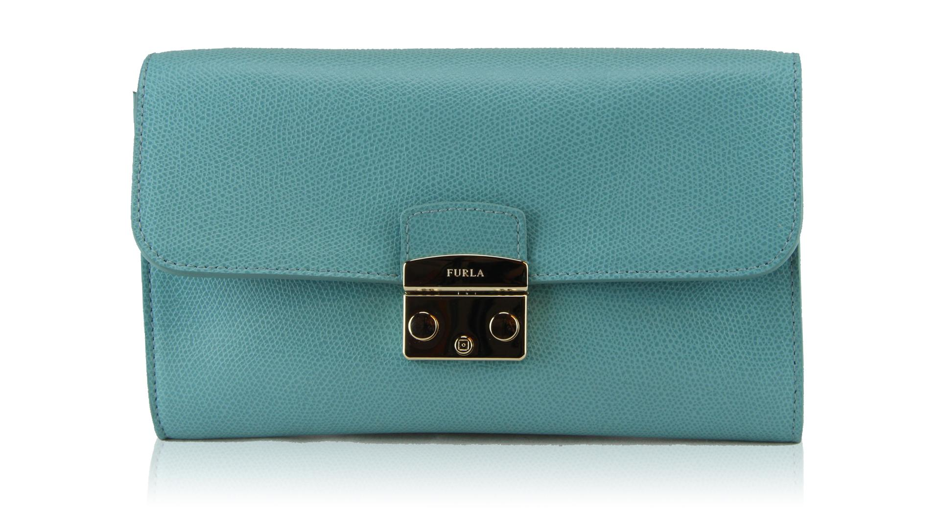 Shoulder bag Furla METROPOLIS 810883 ACQUAMARINA