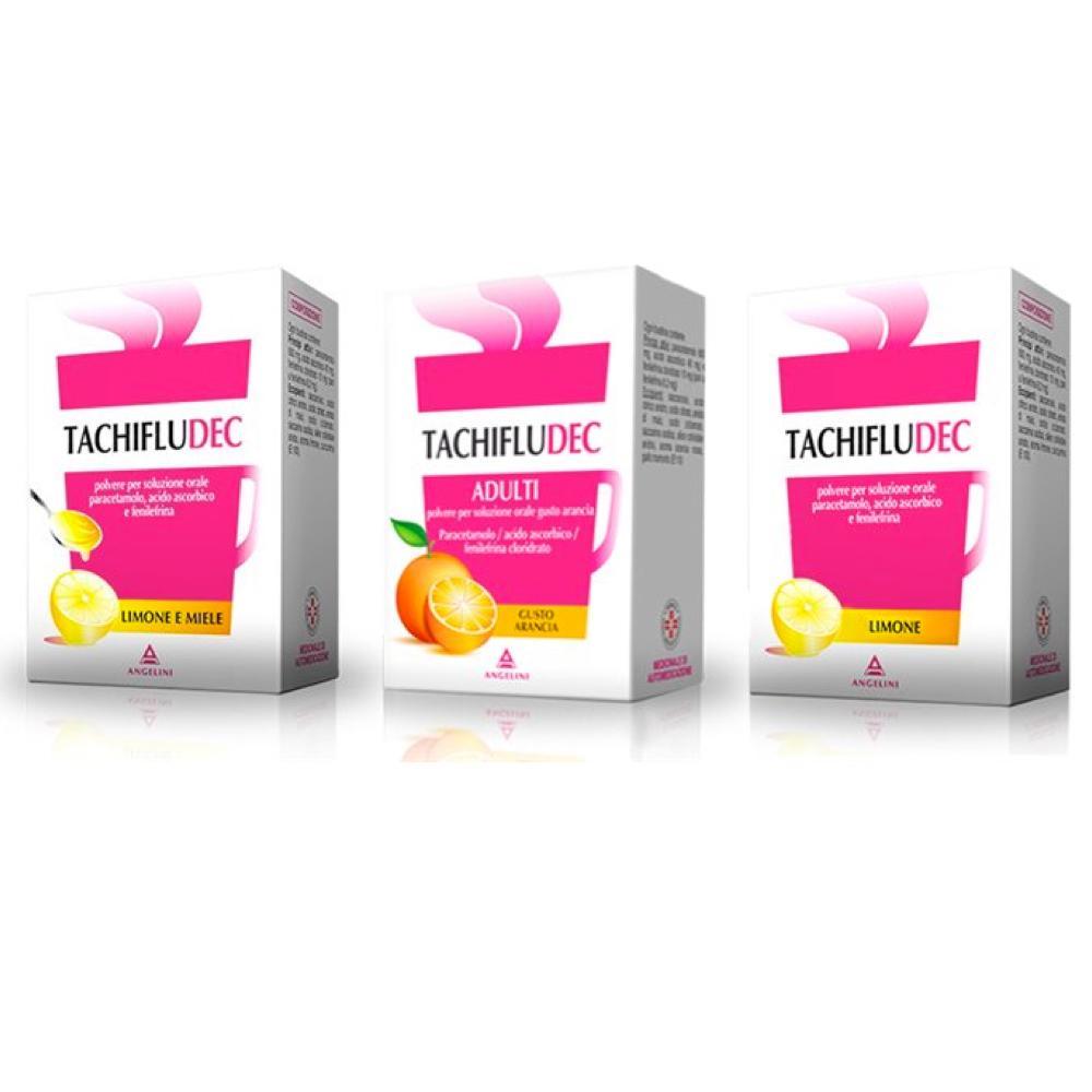 Tachifludec 10 buste a base di paracetamolo acido for Tachipirina per raffreddore