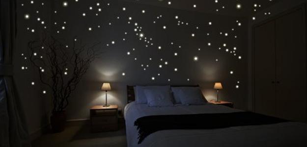 San Valentino idea regalo - Cielo stellato sul soffitto della camera