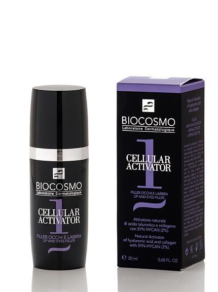 Biocosmo Cellular Activator Filler Occhi/Labbra 20 ml
