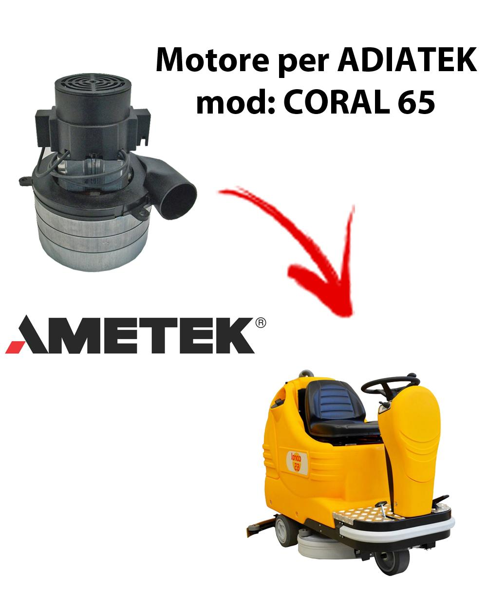 Coral 65 Motore aspirazione AMETEK ITALIA per lavapavimenti Adiatek