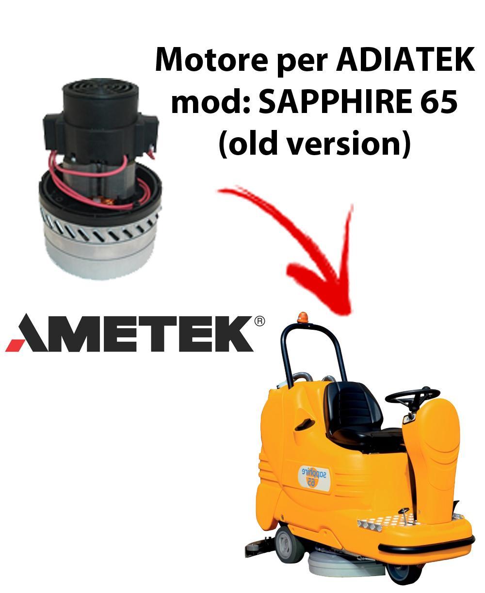 Sapphire 65 (old version) Motore aspirazione AMETEK ITALIA lavapavimenti Adiatek