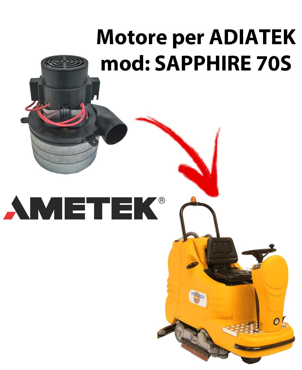 Sapphire 70S  Motore AMETEK ITALIA aspirazione per lavapavimenti Adiatek