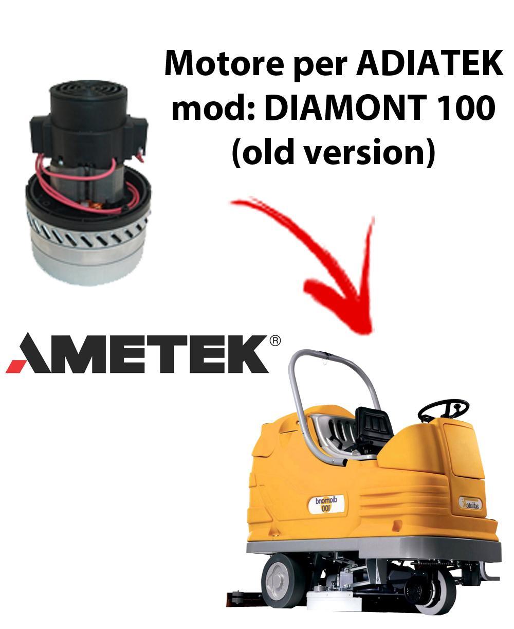 Diamond 100  Motore AMETEK ITALIA aspirazione per lavapavimenti Adiatek