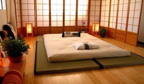 Futon giapponese design moderno