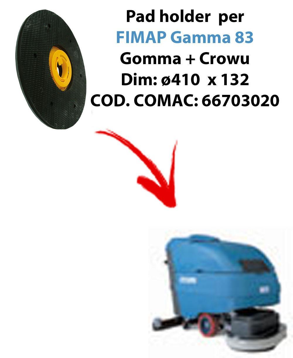 TRASCINATORE ( pad holder) per lavapavimenti FIMAP Gamma 83 (old version)