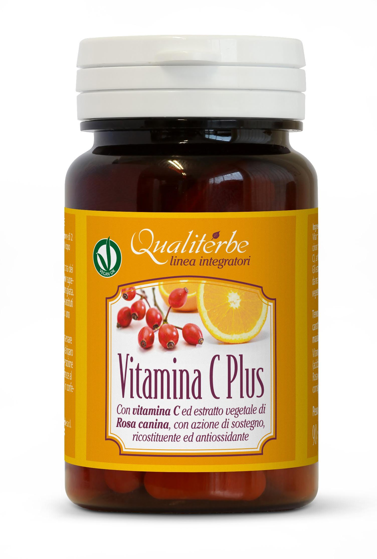 Qualiterbe - Vitamina C Plus 90 capsule