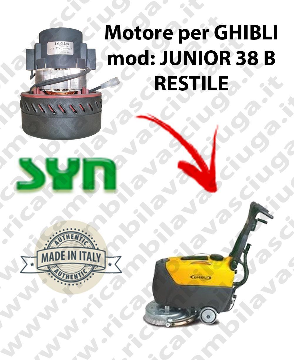 Motore aspirazione Synclean per Lavapavimenti Ghibli JUNIOR 38 B RESTILE