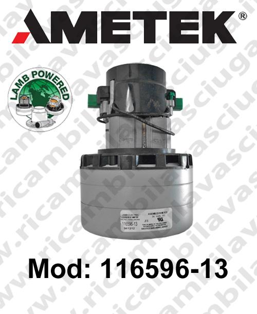 Motore Aspirazione 116596-13 LAMB AMETEK  per lavapavimenti