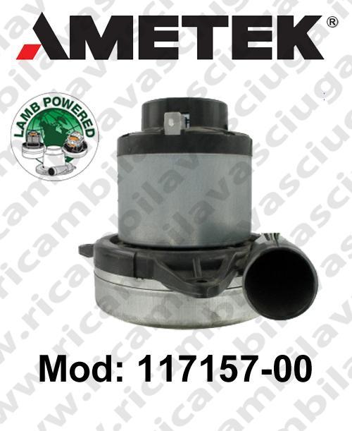 Motore aspirazione 117157-00 LAMB AMETEK per sistemi centralizzati