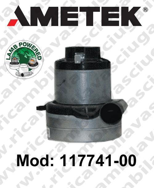Motore aspirazione Lamb Ametek 117741-00  per sistemi centralizzati