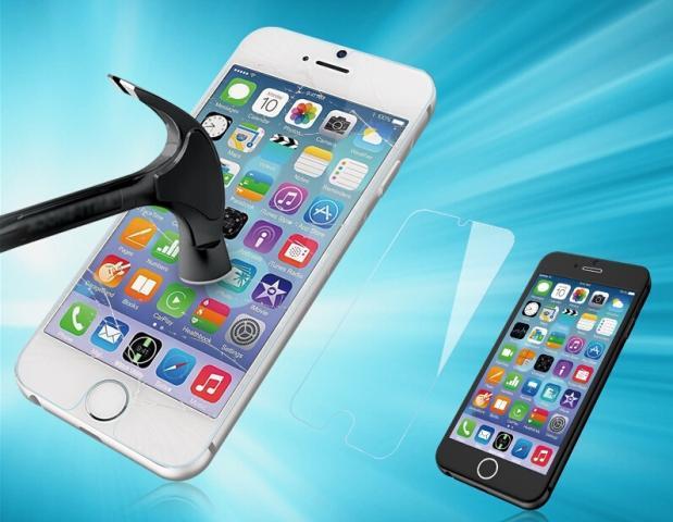 Pellicola in Vetro Temperato 9H per iPhone
