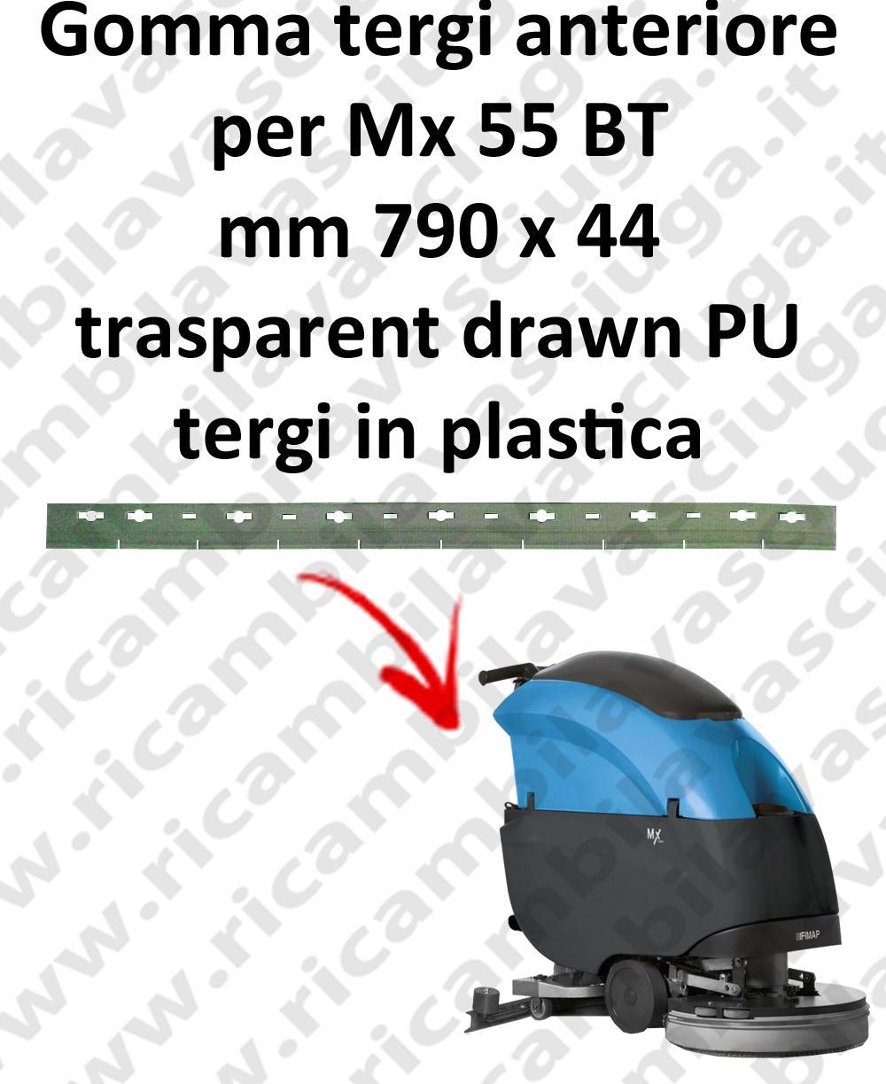 Gomma tergipavimento anteriore per lavapavimenti FIMAP - Mx 55 BT