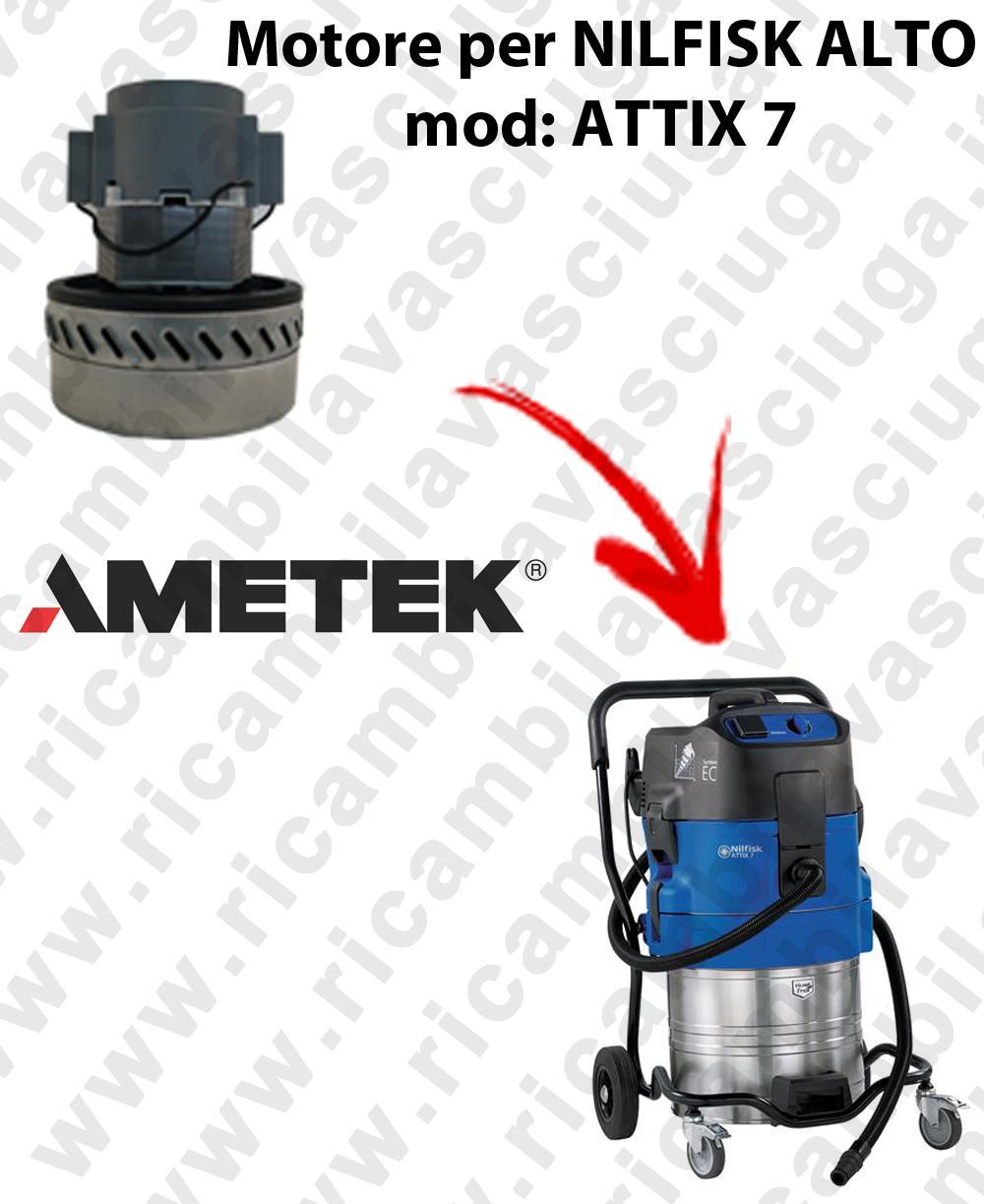 Motore aspirazione AMETEK  per aspirapolvere ATTIX 7-  NILFISK ALTO