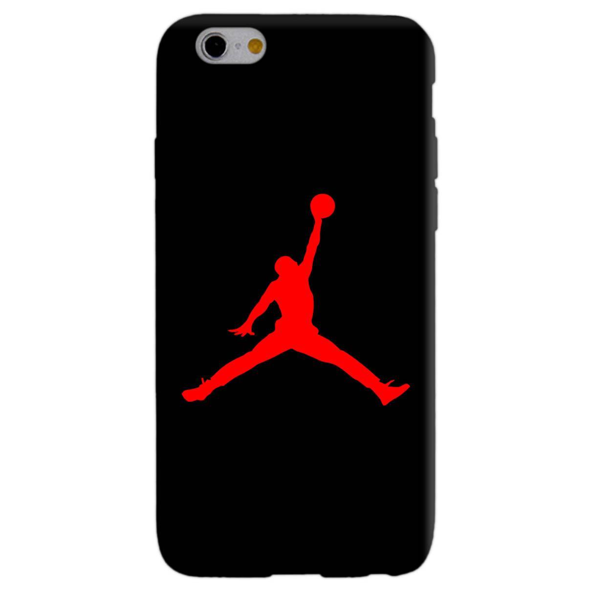 JORDAN AIR RED cover per iphone vari modelli