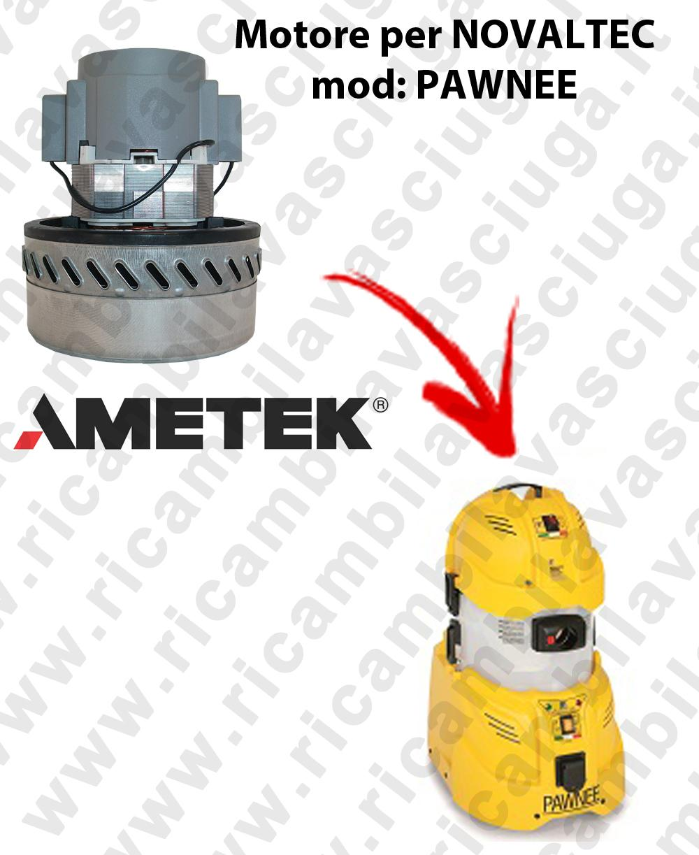 Motore aspirazione AMETEK per aspirapolvere PAWNEE NOVALTEC