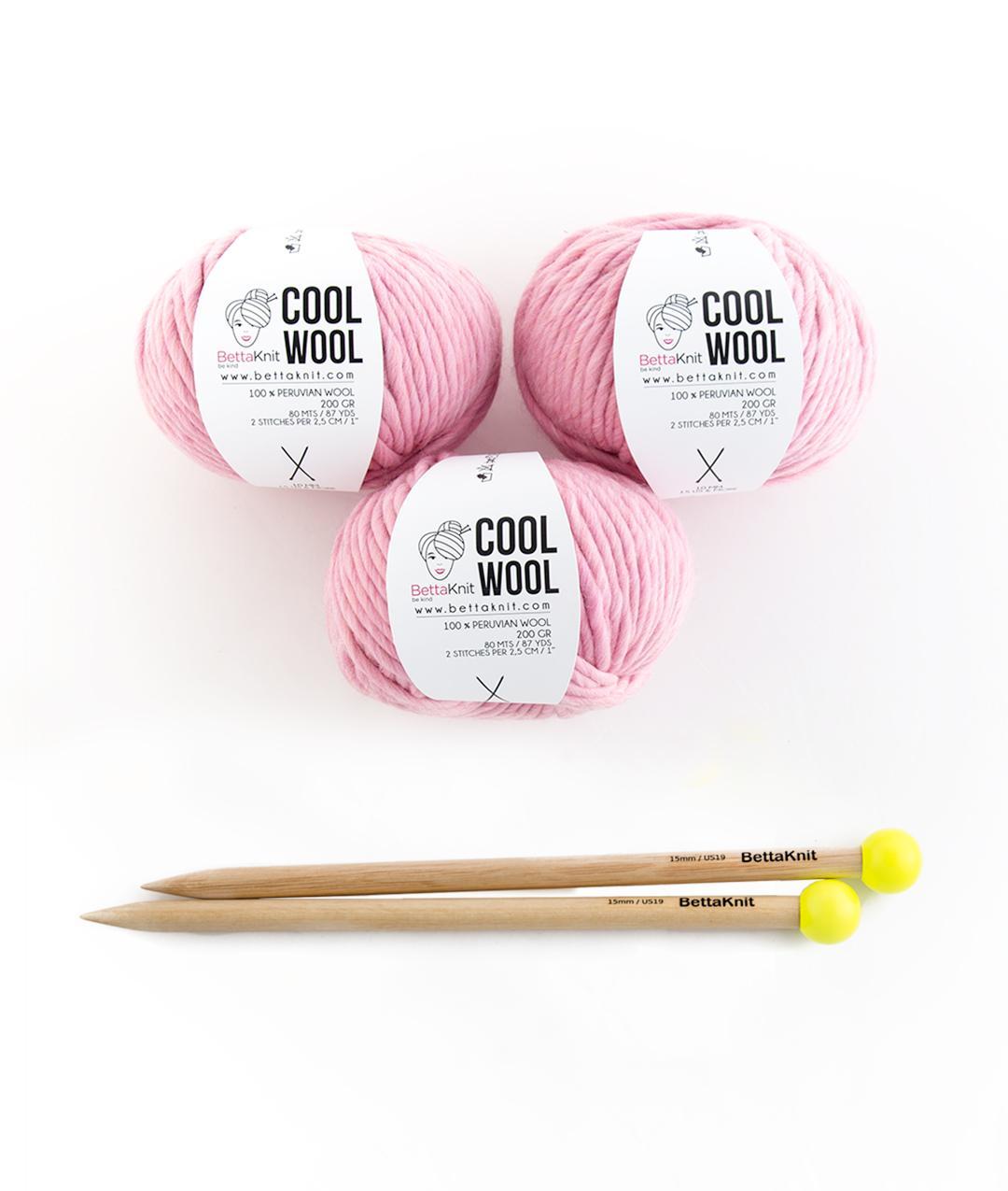 Gomitoli con ferri - Confezioni di filato - Cool Wool Box - Medium - 1