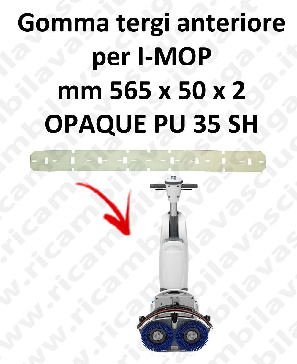 I-MOP GOMMA TERGIPAVIMENTO anteriore ricambio lavapavimenti squeegee