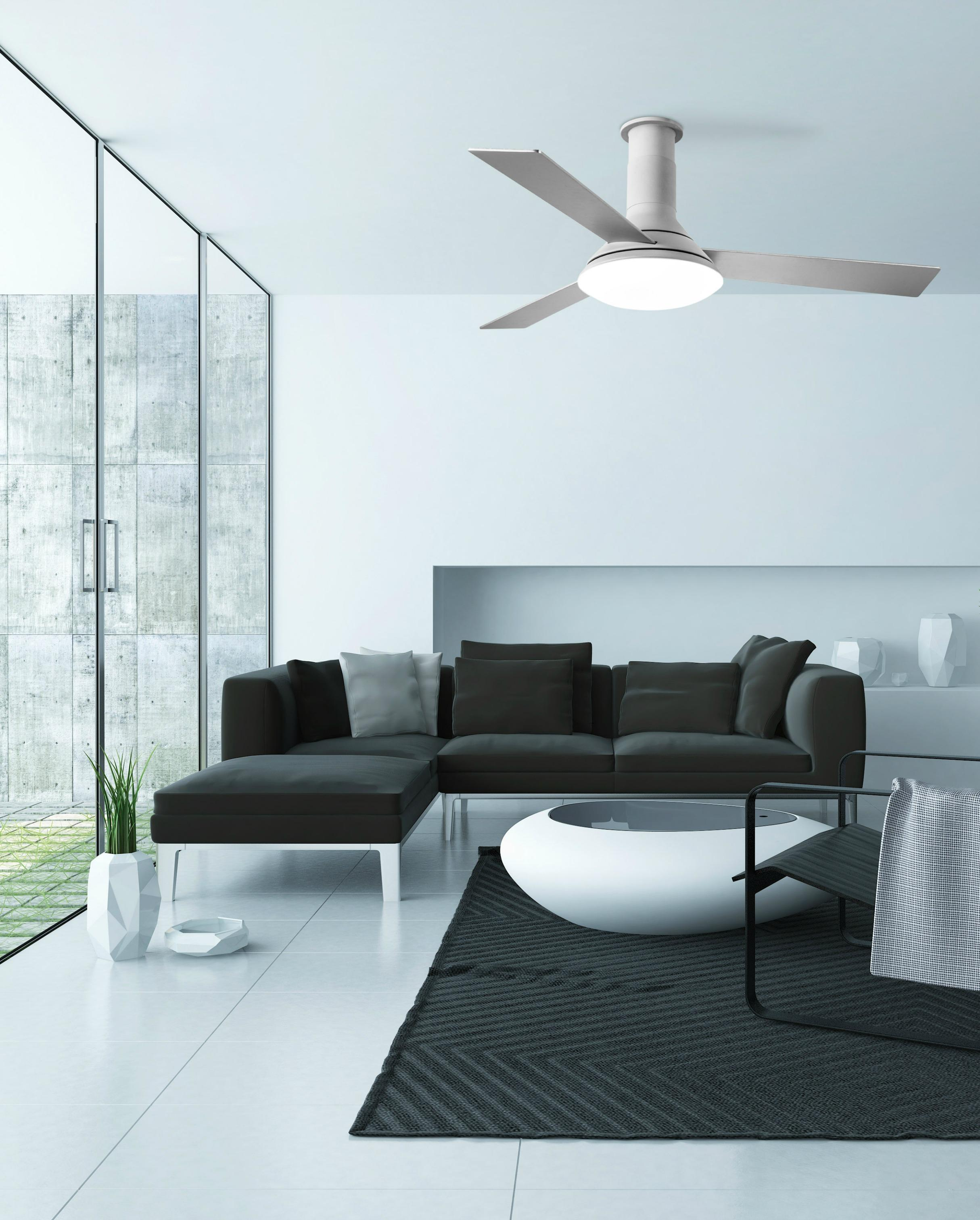 FUS ventilatore da soffitto e LED