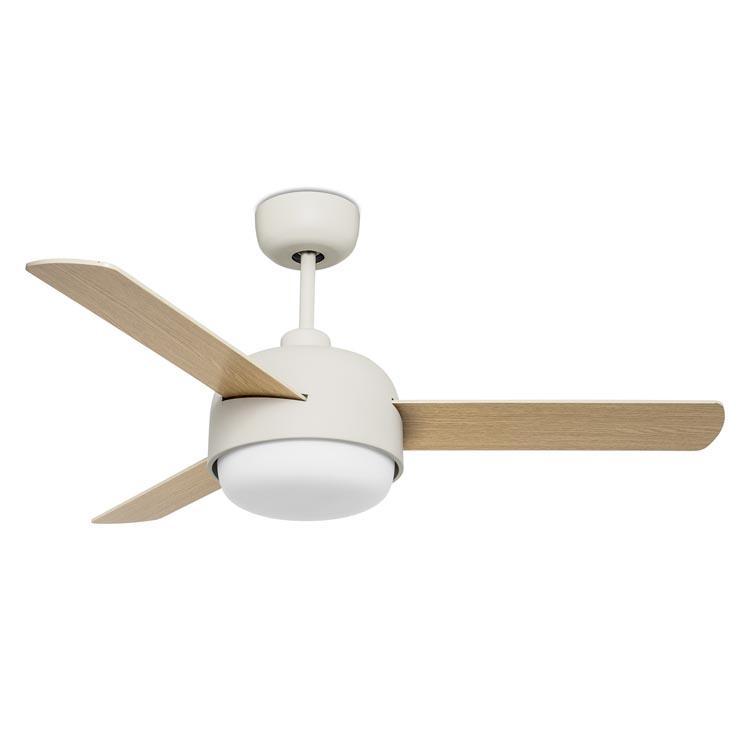 KLAR ventilatore a soffitto con luce