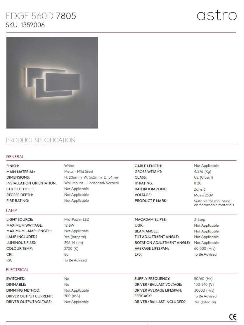 EDGE 560 LED applique