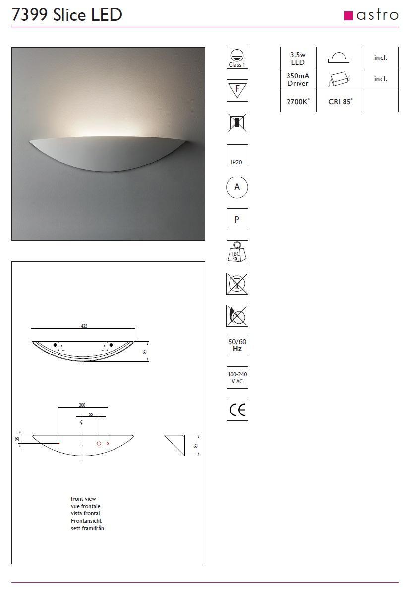 SLICE LED applique