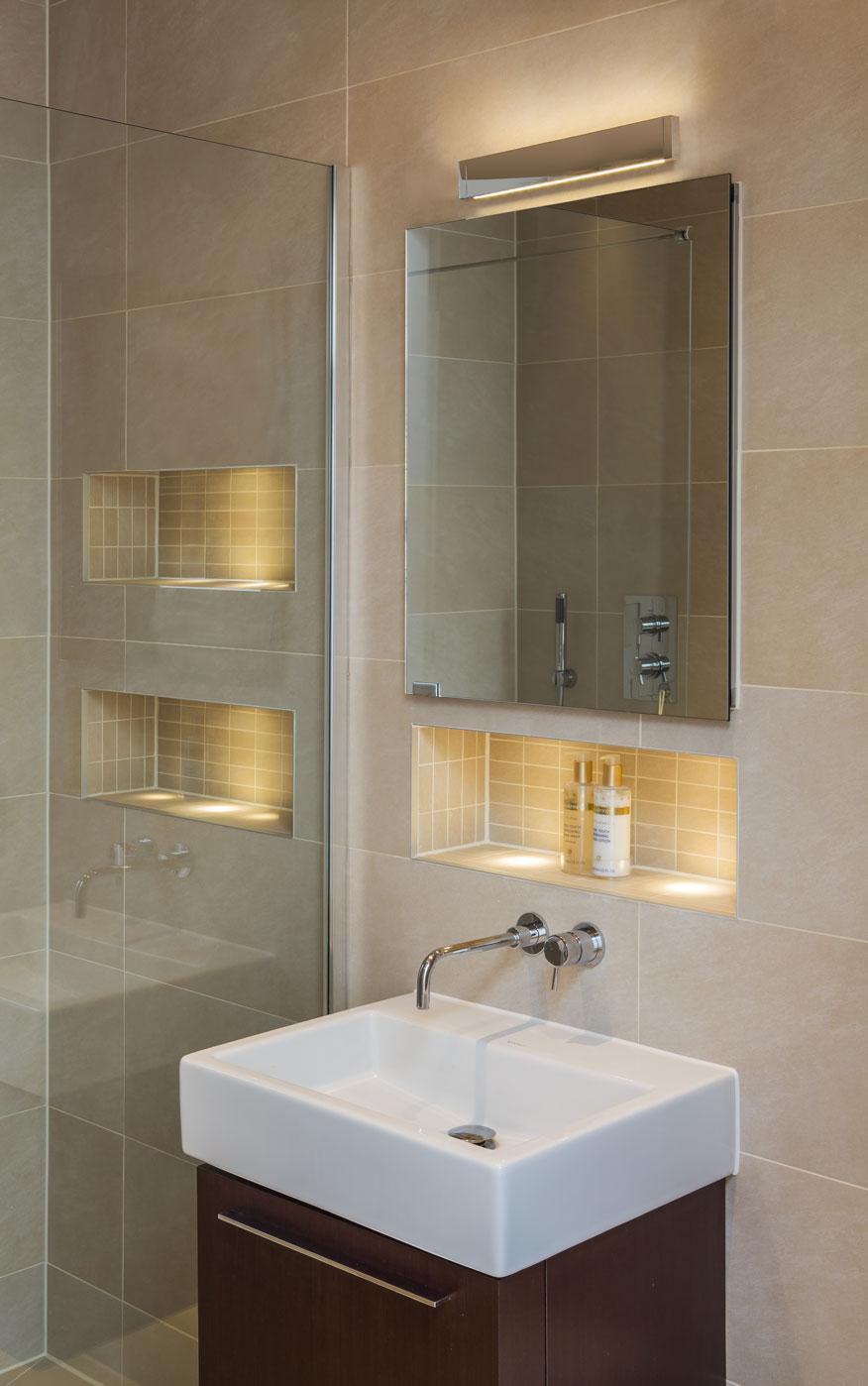 BERGAMO LED applique per bagno