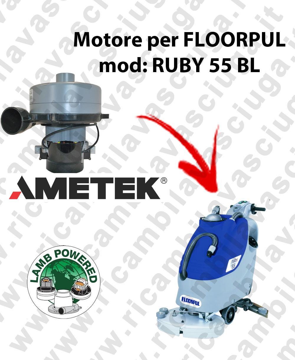 RUBY 55 BL MOTORE LAMB AMETEK di aspirazione per lavapavimenti FLOORPUL