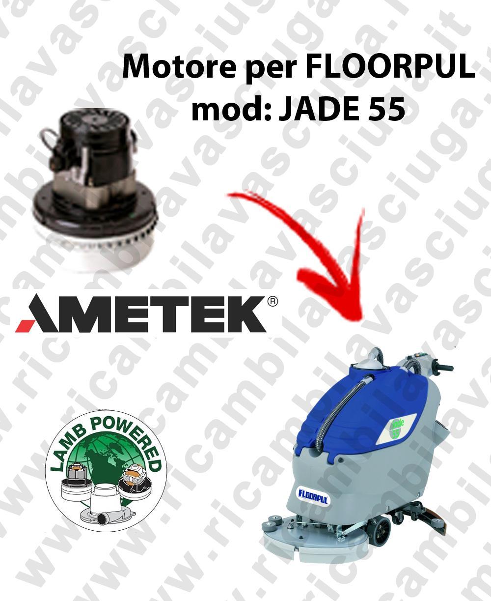 JADE 55 MOTORE LAMB AMETEK di aspirazione per lavapavimenti FLOORPUL