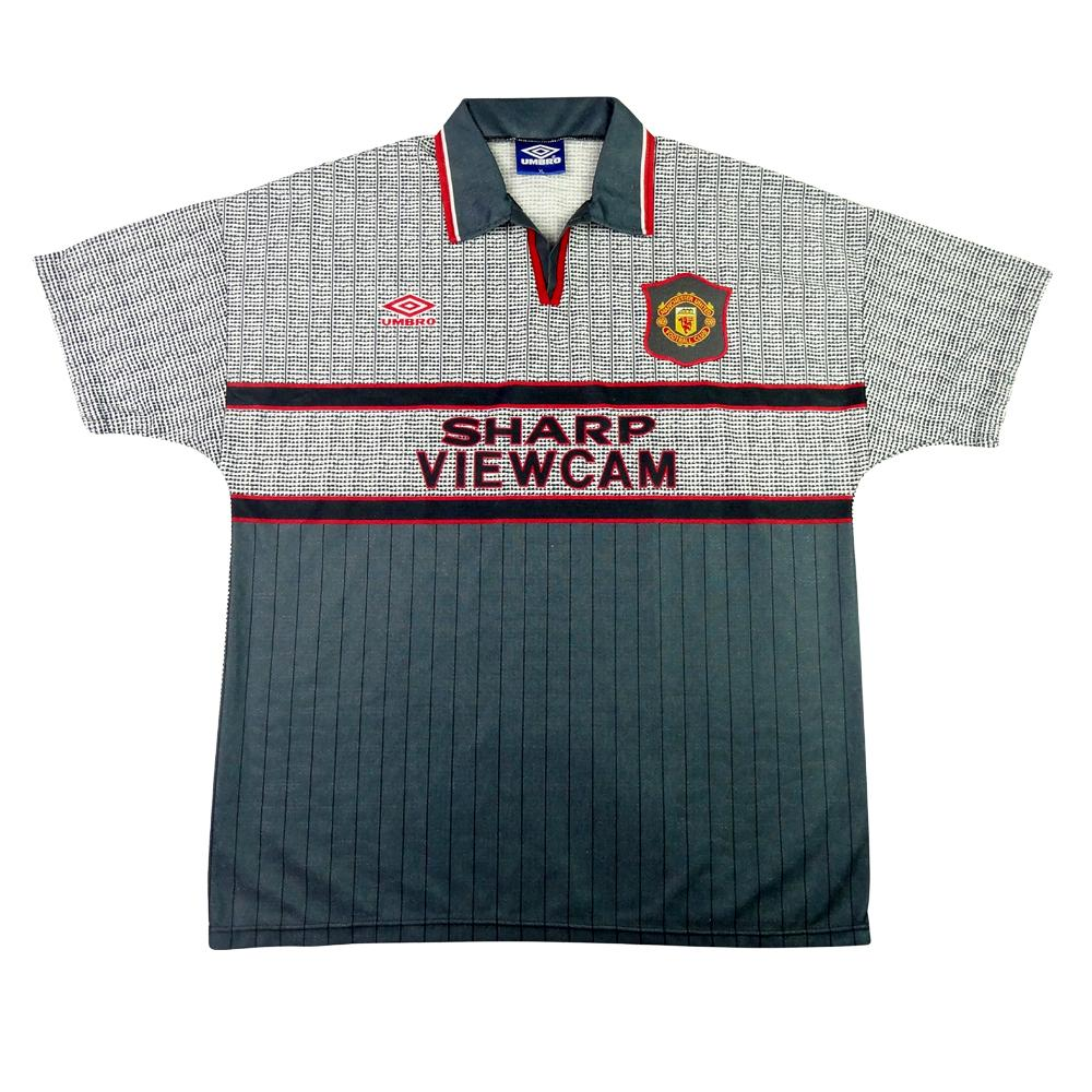 1995-96 Manchester United Maglia Away XL