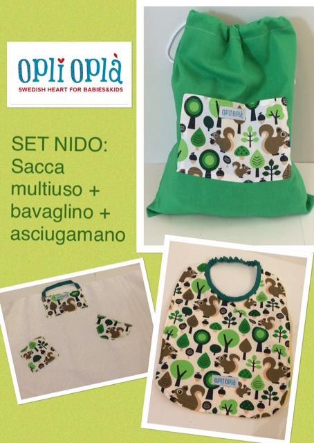 SET NIDO - SCOIATTOLO
