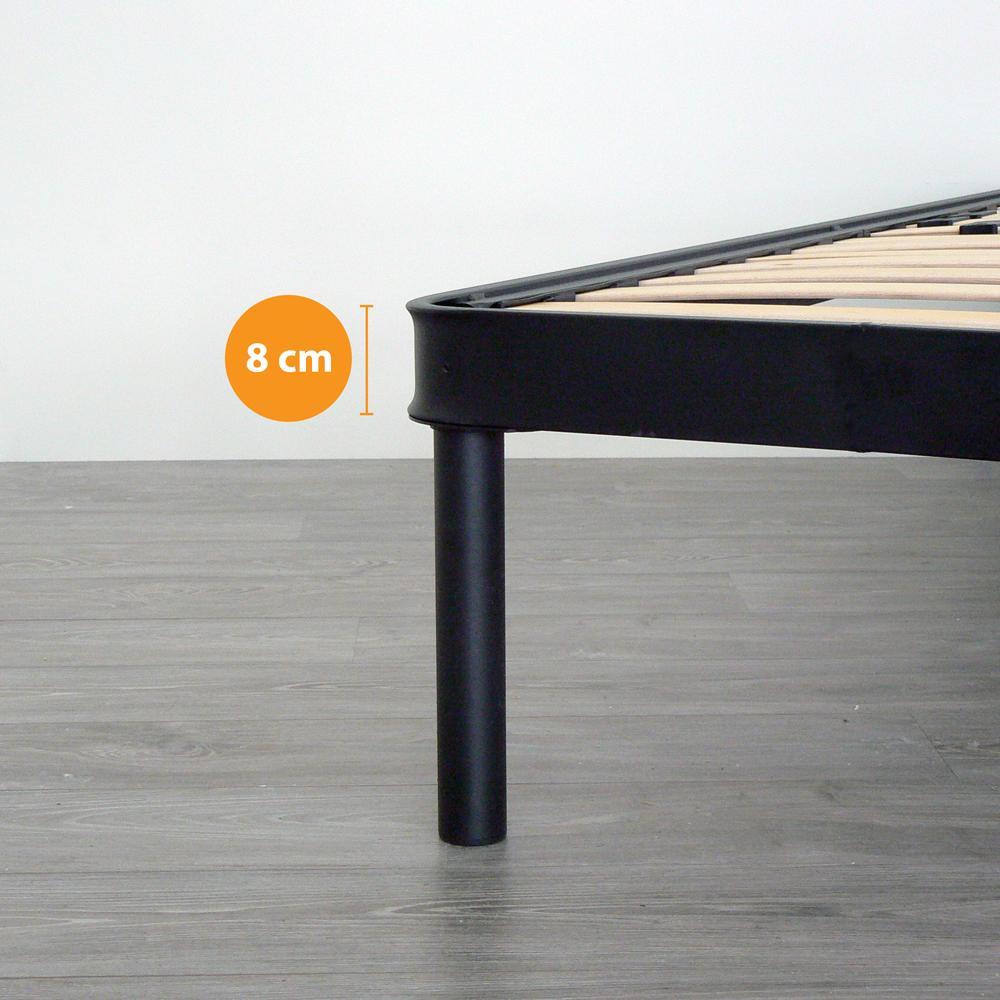 manuell lattenrost xxl aus orthop dische stahlrahmen mit 14 leisten 120x190 cm ebay. Black Bedroom Furniture Sets. Home Design Ideas