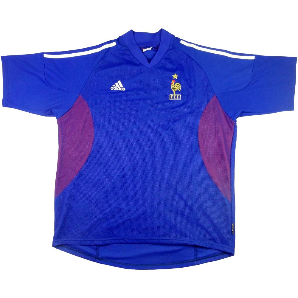 2002-04 Francia Maglia Home L (Top)