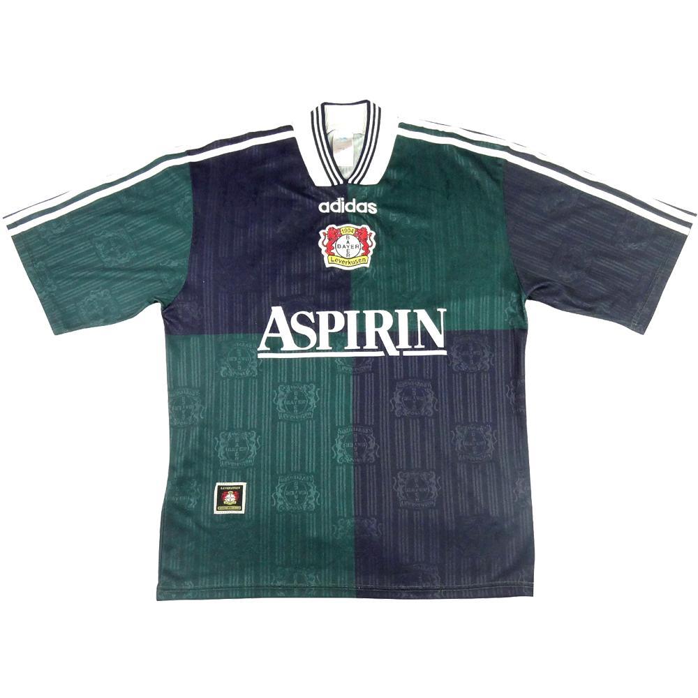 1997-98 Bayer Leverkusen Maglia Away M