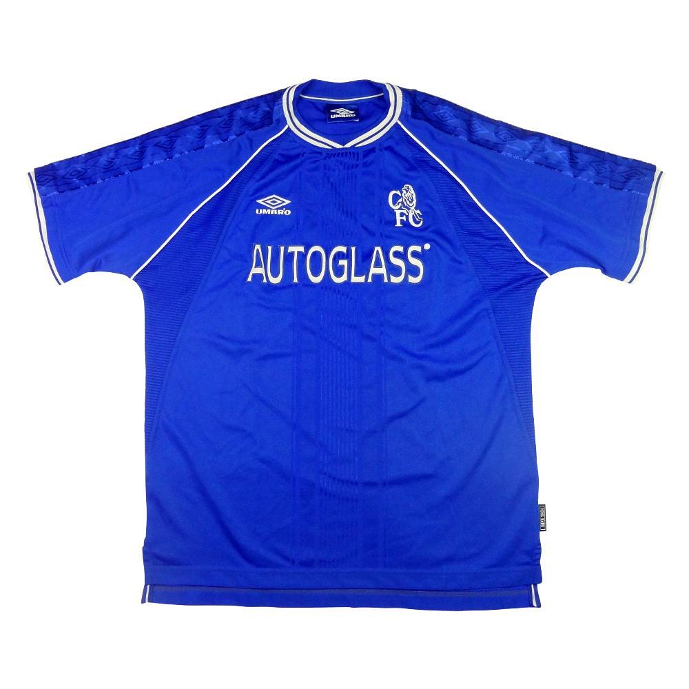 1999-01 Chelsea Maglia Home XL