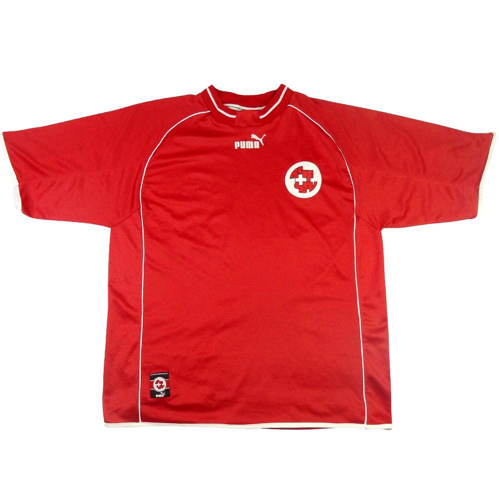 2000-02 Svizzera Maglia Home L