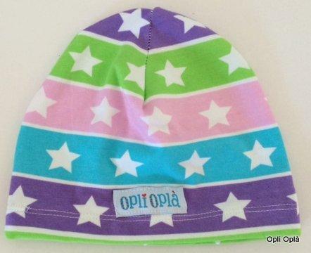 Multistelle rosa - Cappello liscio in cotone