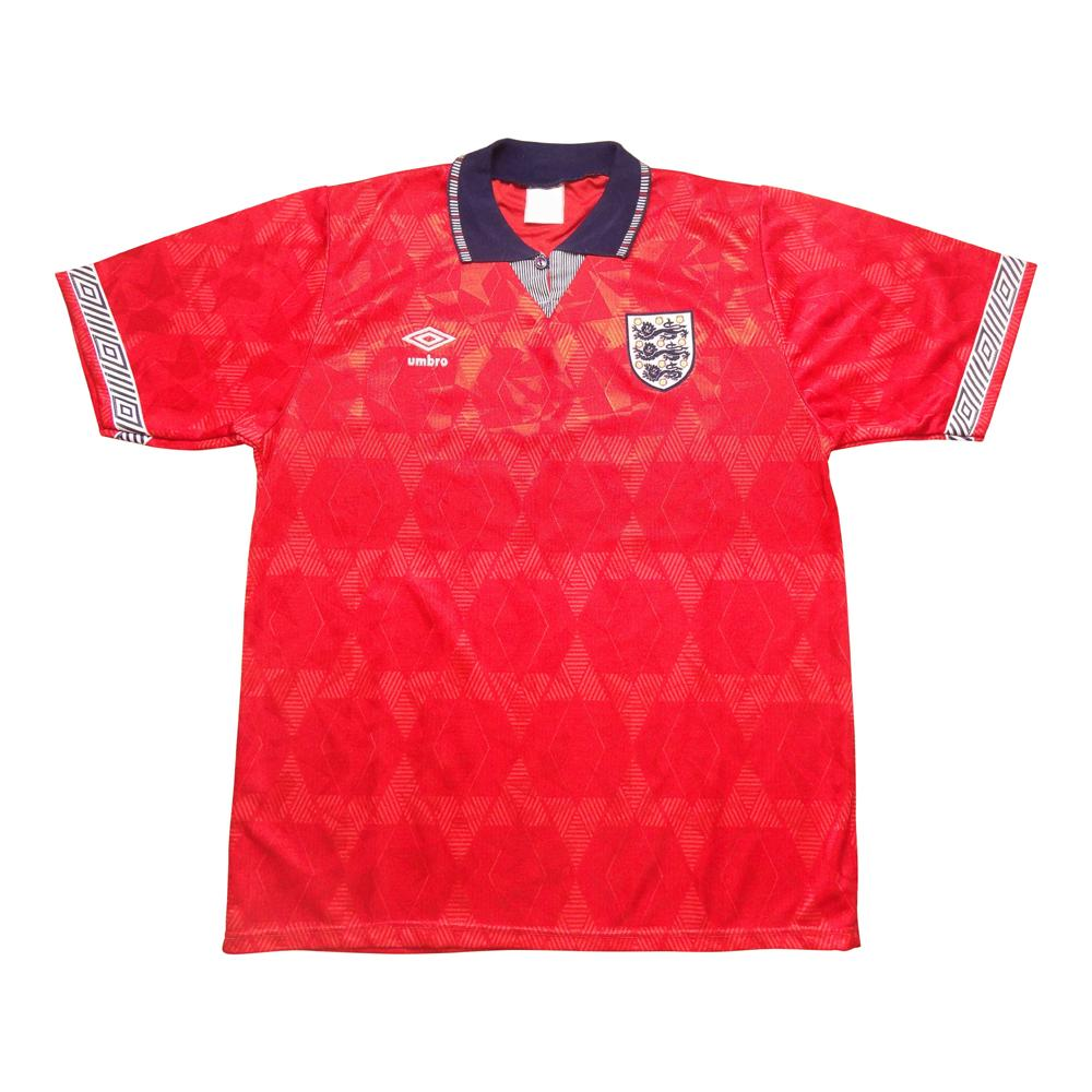 1990-93 Inghilterra Away  Maglia Home L