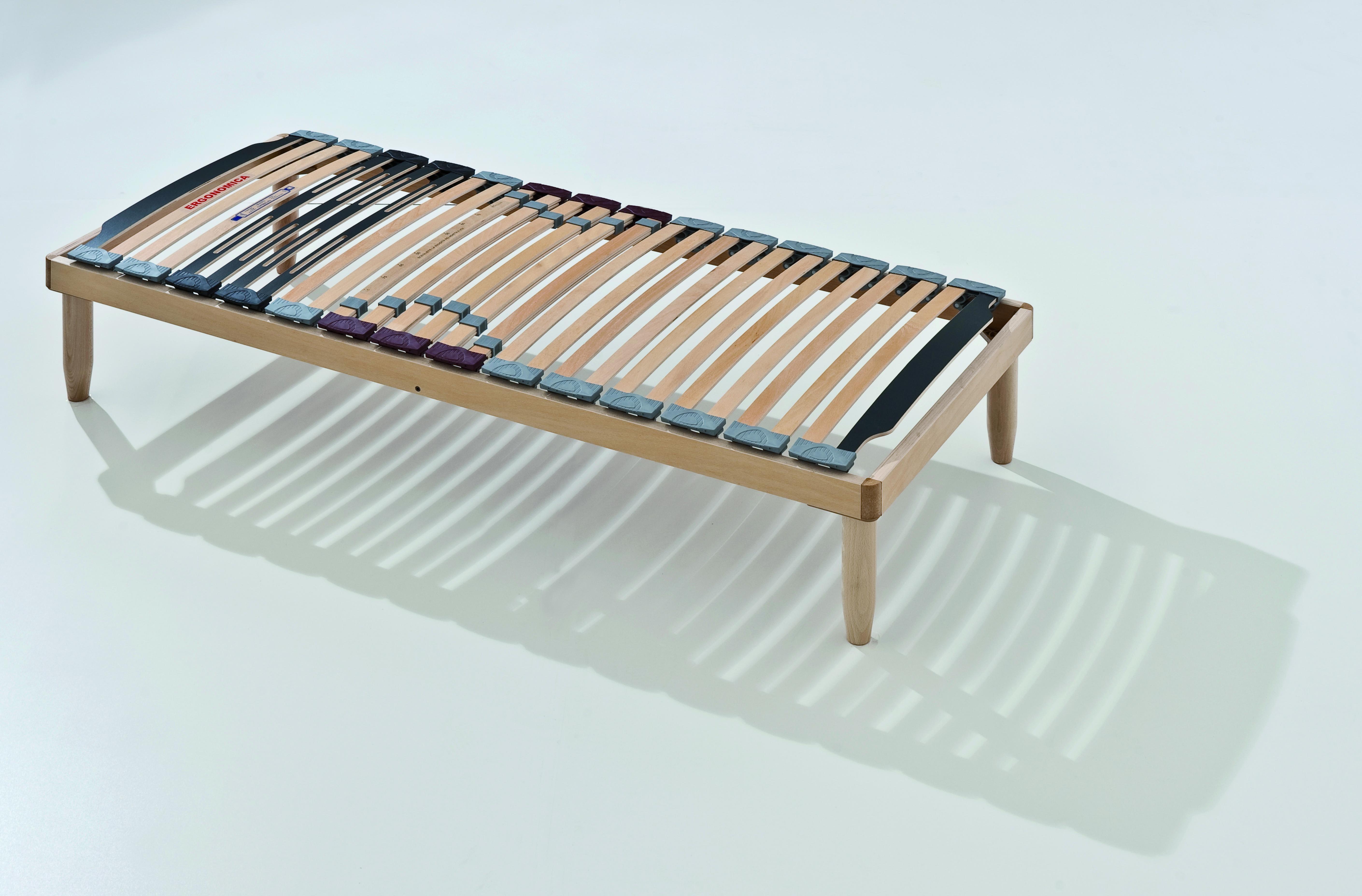 stabiler holz lattenrost mit 28 federholzleisten. Black Bedroom Furniture Sets. Home Design Ideas