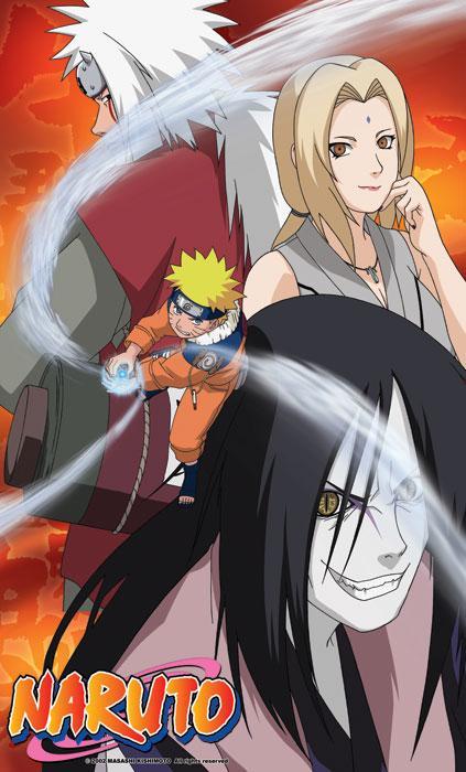 Naruto Kiji Ninja poster in tessuto 60x100 cm