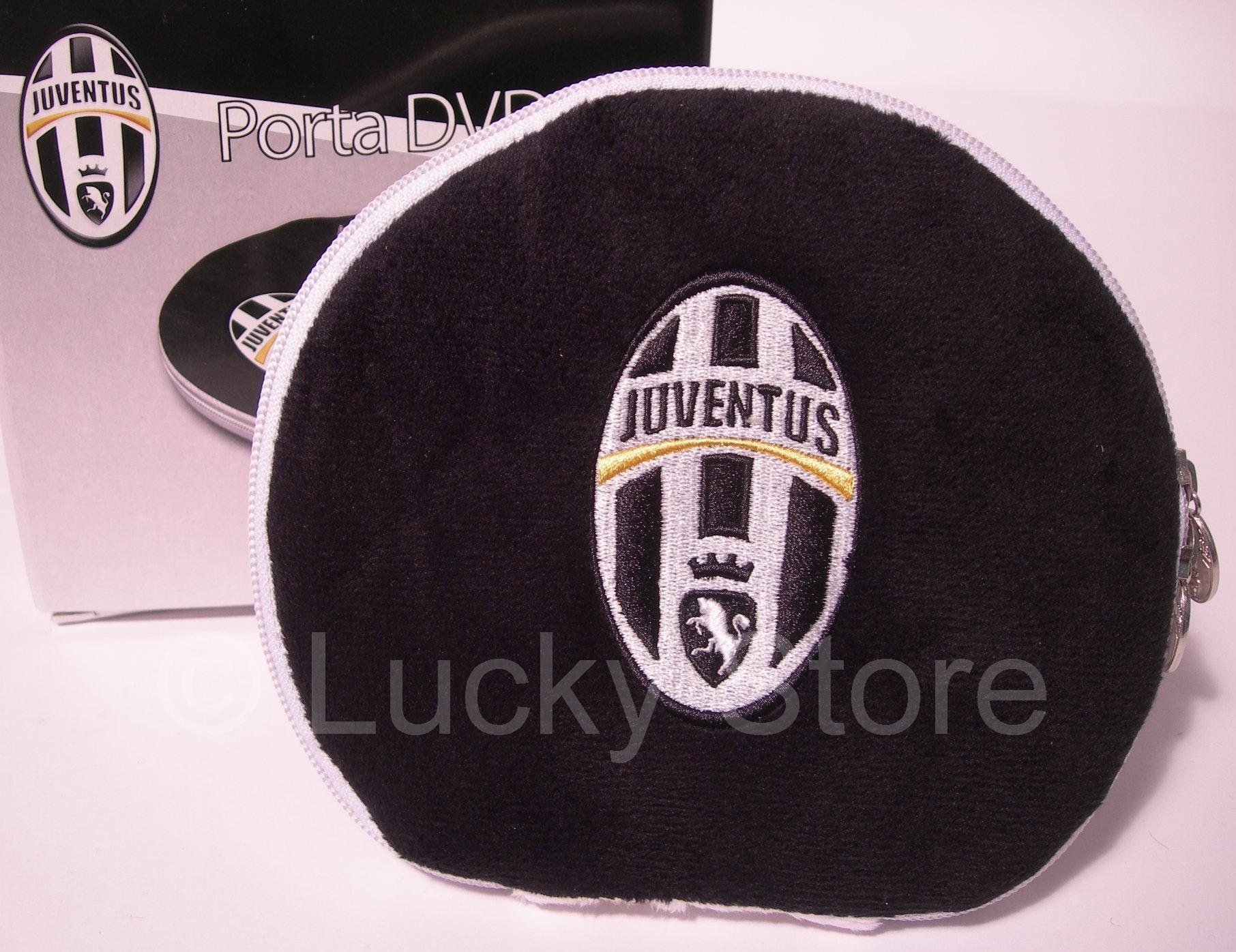 Juventus porta cd dvd ufficiale lucky store