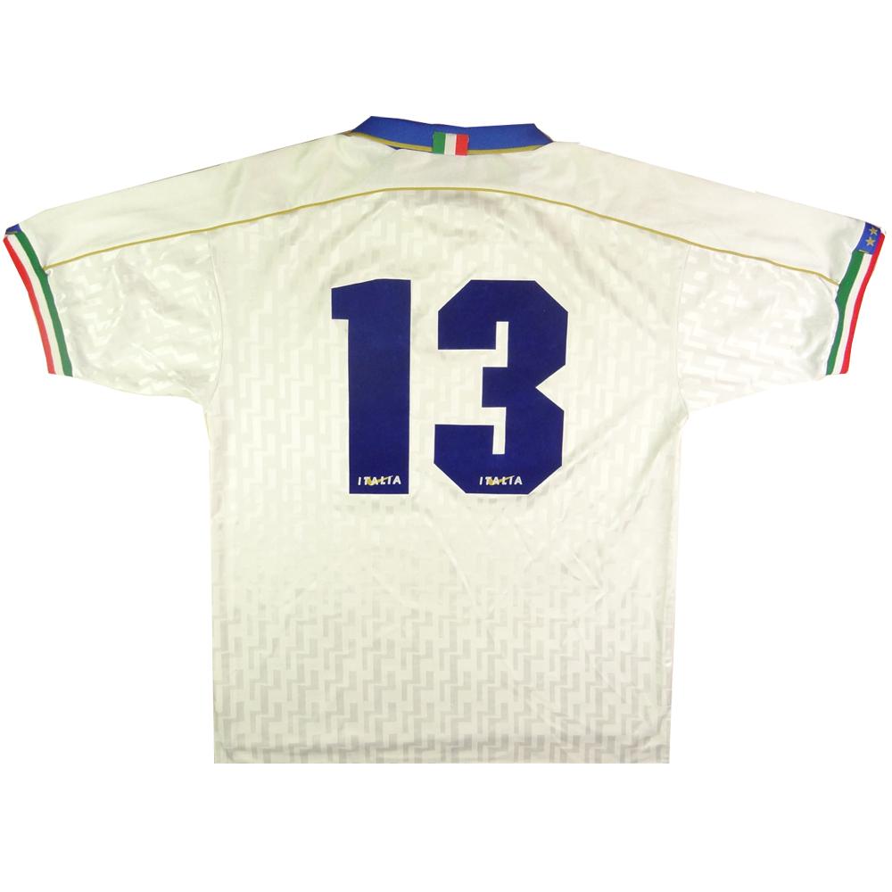 1994-96 Italia Maglia Away #13 Match Issue L