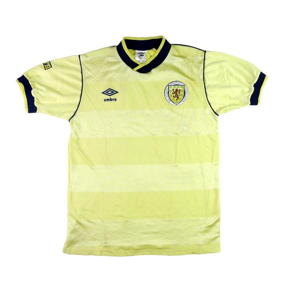 1985-88 Scozia Maglia Home S